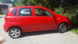 Aveo Hatchback 2008 - AS IS