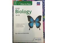 How to Pass Higher Biology for CfE