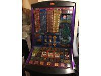 Slot machine/bandit/fruit machine