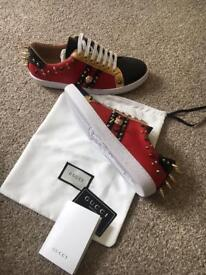 Gucci men's trainers shoes, Louboutin, Valentino