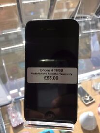 Iphone 4S ,32GB,Vodafone/Lebara Networks,Good Condition,With Warranty