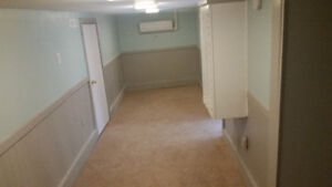 1 bedroom basement unit. $650 all inclusive. 5 min to kentville.