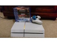 PS4 (White) & Games. Wanting to swap for Xbox One & Games. Or £280 [Boxed]