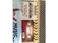 Weekend Leeds festival ticket