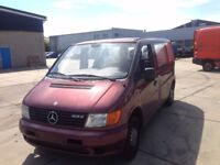 LEFT HAND DRIVE MERCEDES BENZ VITO, DRIVESVERY WELL,SOUND ENGINE&MECHANICS,GO0D LOAD SPACE.CALL MARC