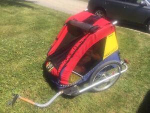 Remorque à vélo double de marque Chariot