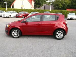 2012 Chevrolet Sonic LS mags air