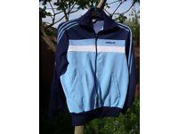 Men's rare and original ADIDAS Ventex, 1970/80-vintage, zip-up top / jacket. Size M. Made in Tunisia