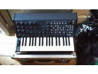 KORG MS20 WITH CUSTOM FLIGHT CASE