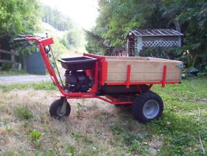 DR Power Wagon Pro (Power Wheel Barrow)