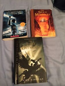 Books 1,2 and 5 of the Percy Jackson series