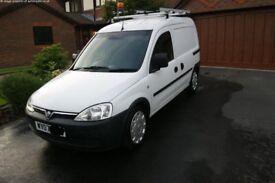 Vauxhall Combo Van (Clean, Low Mileage with 13 Months MOT)