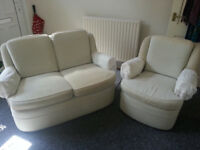 2 piece suite sofa and chair