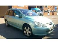 PX to clear bargain! 2004 Peugeot 307 2.0 HDI SW, new MOT, FSH and only 108k