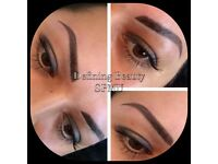 Semi Permanent Eyebrows - Ombre and Powder Brows