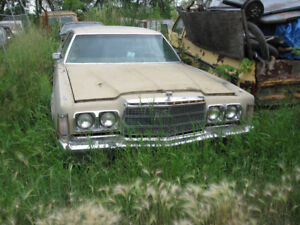 1970, 1971 and 1977 Chrysler PARTS CARS