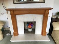 Fire place and marble surround