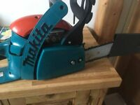 makita petrol chainsaw very clean