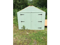 7' 3' bicycle shed