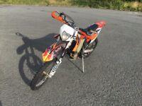 2012 KTM 450 EXC FI Enduro