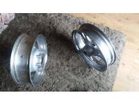 kawasaki meanstreak alloy wheels