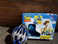 Toy Story Tri Skates Adjustable Size 5j-8j