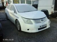 TOYOTA AVENSIS 2010 ESTATE BREAKING FOR SPARES TEL 07814971951 HAVE FEW IN STOCK