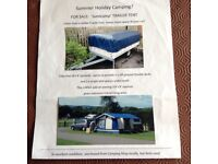 Sunncamp 240s trailer tent in good condition only used a few times