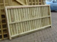 FULLY PREASURE TREATED GARDEN FENCE PANELS 6X3 LOCAL DELIVERY