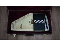 Oscar Schmidt Electric Autoharp - with HARD CASE
