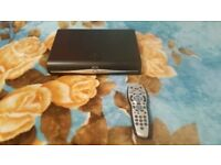 Sky+ HD Box and Remote with Cables