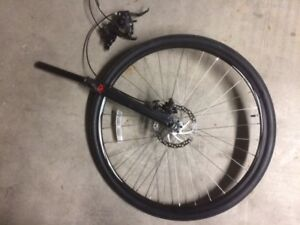 Raleigh Cadent 2 front wheel