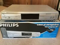 Philips Audio CD Player/Recorder CDR-796