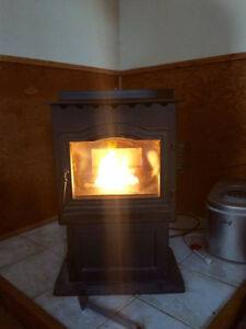 Harman Pellet Stove and Pipes