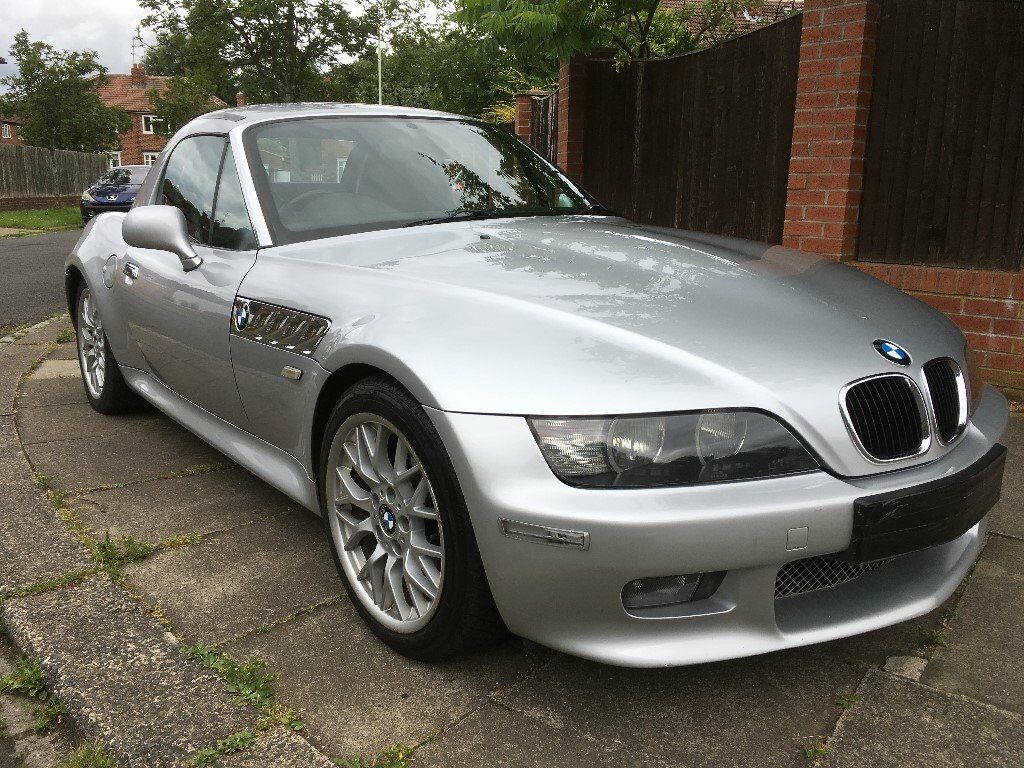 bmw z3 2 2 sport 2dr in silver hardtop included in. Black Bedroom Furniture Sets. Home Design Ideas