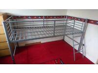 Mid sleeper bed frame grey