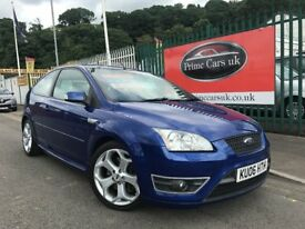2006 (06 reg) Ford Focus 2.5 SIV ST-2 3dr Hatchback 6 Speed Manual Petrol Low Miles !