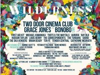 1-2x Wilderness Festival Tickets General Camping