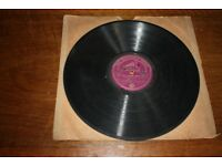 HMV 78 RPM Record - Uncle Mac's Nursery Rymes Part 3 & 4