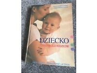 Polish Pregnancy/ baby books