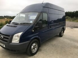 Ford transit 115t350l 2009 lwb high roof good condition
