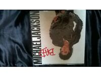 michael jackson bad lp mint condition can post