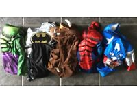 Assorted boys' costumes ages 5-6