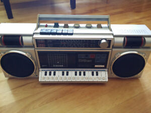 Silver ST3300L Melody Recorder Compozer keyboard / tape deck