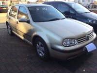 VW GOLF 1.6L, good runing condition for sale