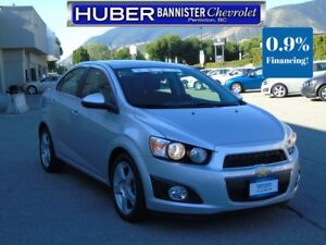 2016 Chevrolet Sonic Turbo/Sunroof/Backup Camera