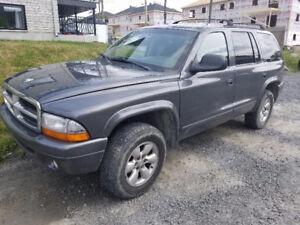 2002 Dodge Durango VUS