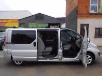 No VAT! Vauxhall Vivaro 2.0CDTi Sportive LWB 6 seat factory fitted crew vans (10