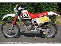 Honda HONDA XL250R 1991, 9 months MOT, very good condition