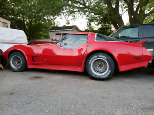 1978 Corvette  California Kit Edition.